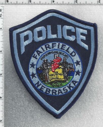 Fairfield Police (Nebraska) 1st Issue Shoulder Patch