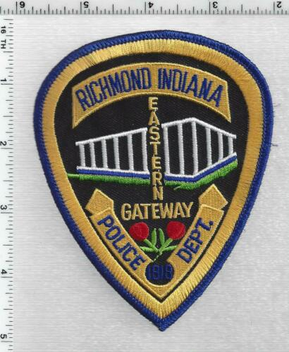 Richmond Police (Indiana) 4th Issue Shoulder Patch
