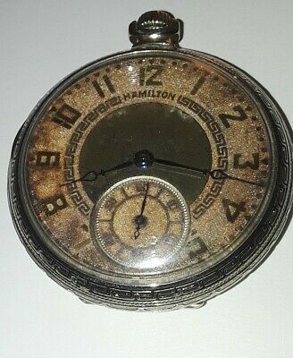 Old pocket watch Hamilton 912