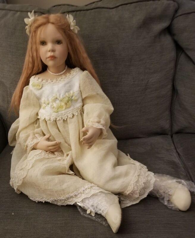 """Signed Marlena 28"""" Doll By Zofia and Henry Zawieruszynski # 131/150"""