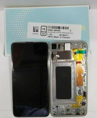 - Samsung galaxy S10 Plus LCD Screen Touch Digitizer + Frame S10E G970 G973 G975