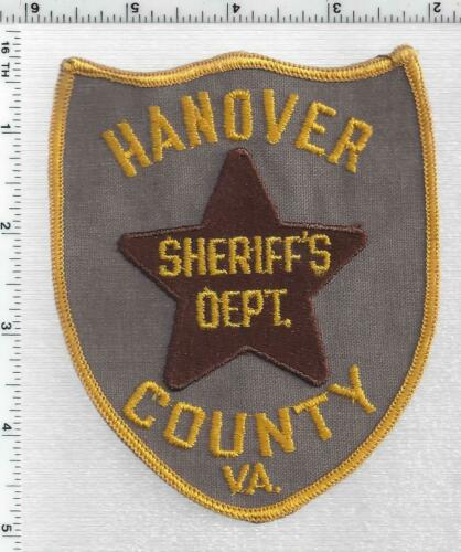 Hanover County Sheriff (Virginia) 1st Issue Shoulder Patch