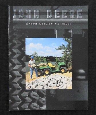 1996 John Deere 4x2 6x4 6x4 Diesel Gator Utility Vehicle Sales Brochure Minty