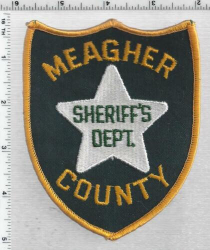 Meagher County Sheriff (Montana) 1st Issue Shoulder Patch