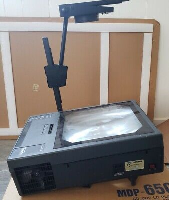 Dukane Model 4000 Professional Overhead Projector Audiovisual Tested Working