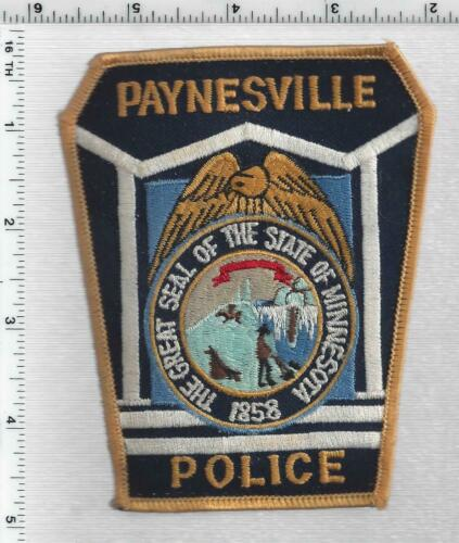 Paynesville Police (Minnesota) 2nd Issue Uniform Take-Off Shoulder patch