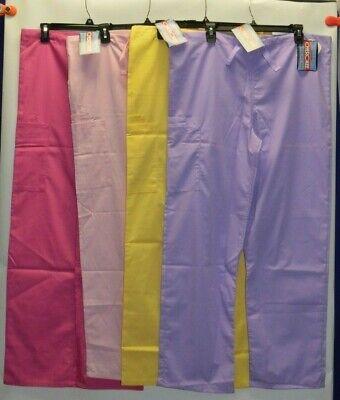 Cherokee Workwear Scrubs Pants Unisex Men Women Drawstring Cargo Pants 4100 #2 4100 Unisex Drawstring Pant