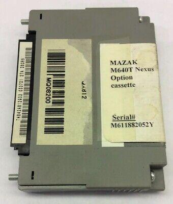 Mazak M640t Nexus Cassette M611882052y Qx812 Mq08200 Machnist Cnc Lathe Memory