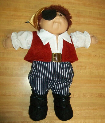 8 pc PIRATE OUTFIT ONLY HALLOWEEN COSTUME for 16-17-18
