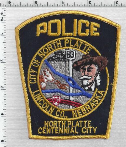 North Platte Police (Nebraska) 3rd Issue Shoulder Patch
