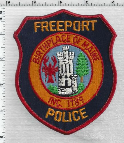 Freeport Police (Maine) 2nd Issue Shoulder Patch
