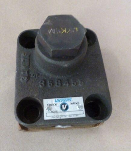 Vickers  Eaton C5G-815 358465 Hydraulic Check Valve