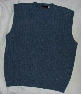 Comfort Knits Blue  Vest  Men's Size XL  Acrylic  Casual  Excellent Condition