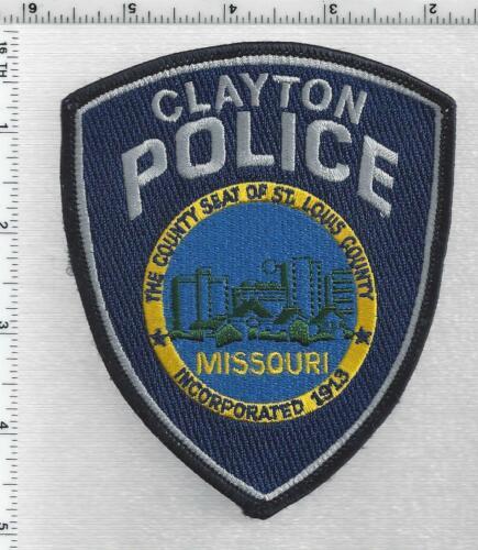 Clayton Police (Missouri) 2nd Issue Shoulder Patch