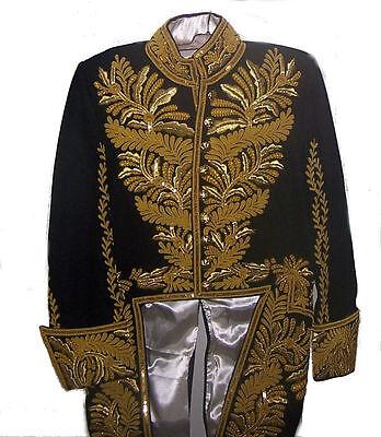 Custom Edwardian Ambassador Court Coatee Uniform Tunic Coat Jacket Officer Lord