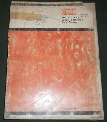 Case 780c Ck Construction King Loader Backhoe Parts Book Manual Oem Original