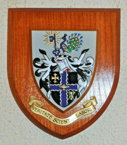 Loughborough University plaque shield crest coat of arms