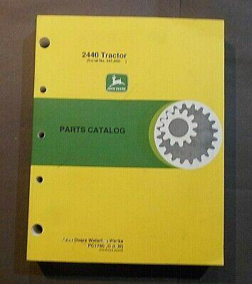 John Deere 2440 Tractor Parts Catalog Manual Pc1760