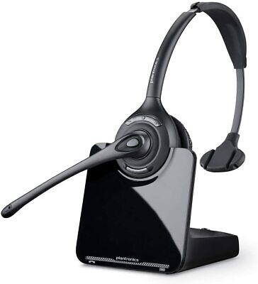 Plantronics CS510 Over-the-Head Black/Silver Wireless Headset System DECT 6.0