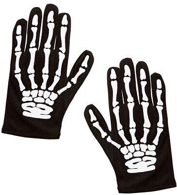 Skelett Knochen Handschuhe für Kinder NEU - Zubehör - Skelett Handschuhe Für Kinder