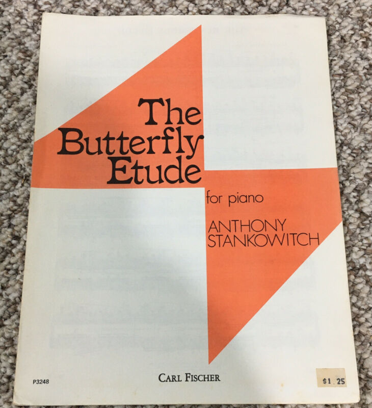 The Butterfly Etude For Piano Anthony Stankowitch Carl Fischer P3248