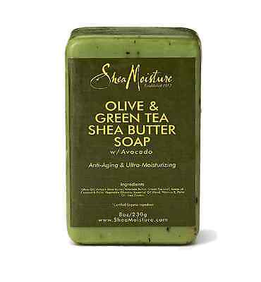 SheaMoisture Olive & Green Tea Shea Butter Soap - 8 oz