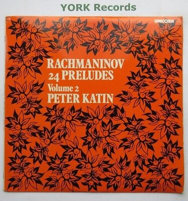 UNS 231 - RACHMANINOV - 24 Preludes PETER KATIN - Excellent Condition LP Record