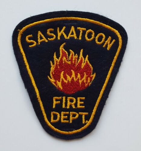 Saskatoon Saskatchewan Canada Fire Department patch version 2, new condition