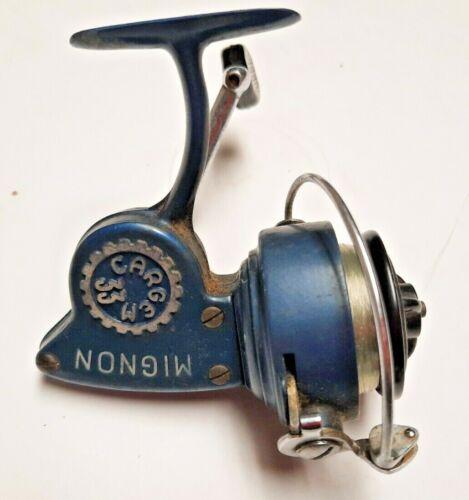 Vintage Alcedo Cargem 33 Open Face Spin Reel Italy Mignon Ultra Light Left Hand