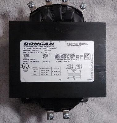 Dongan Transformer 50-1000-053 1kva Single Phase 240x480 120 Volts Industrial