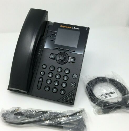 Polycom Poly Ring Central VVX 250 Business IP Phone (2201-48820-001)