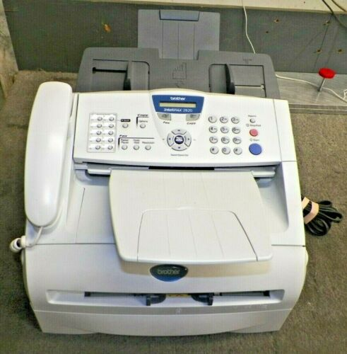 Brother Intellifax 2820 Laser Fax and Copier with extras