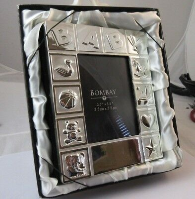 Bombay Baby photo album new lovely silver tone album book  for sale  Fort Collins