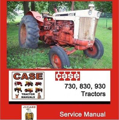 Case International 730 830 930 Ck Draft O Matic Tractor Shop Service Manual Cd