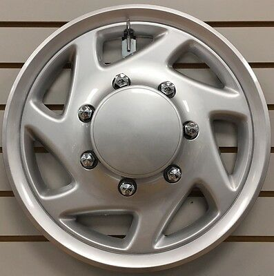 NEW 1995 2014 Ford E150 E250 E350 Shuttle Van Bus 16 SILVER Hubcap Wheelcover