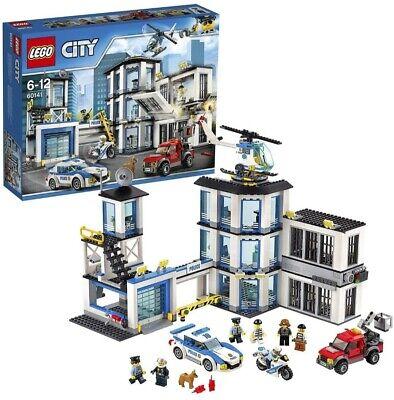 LEGO CITY STAZIONE DELLA POLIZIA COME NUOVO PER BAMBINI DAI 6 ANNI IN SU