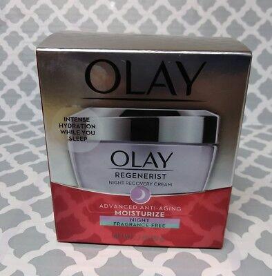 Nightly Moisturizer Fragrance (Olay Regenerist  Advanced Anti-Aging Moisturize Night Cream Fragrance Free)