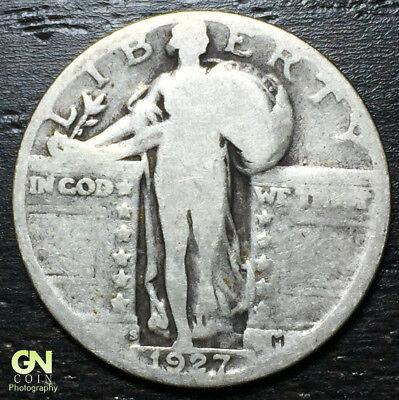 1927 S Standing Liberty Quarter  --  MAKE US AN OFFER!  #R4098