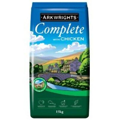 ARKWRIGHTS COMPLETE DRY DOG FOOD CHICKEN 15KG BAG