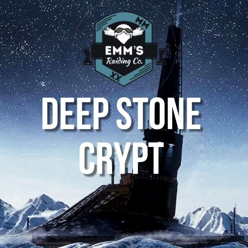 $30 Deep Stone Crypt (100% Guaranteed) (Fresh FULL RAID) (PS4 Only)