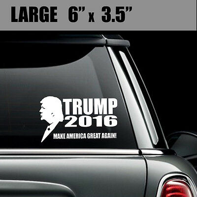 Donald Trump for President - Make America Great Again Vinyl Decal Bumper Sticker