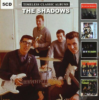 The Shadows Timeless Classic Albums Out Of The Shadows Meeting With New 5 Cd