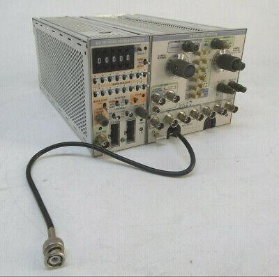 Tektronix La 501w Logic Analyzer W Wr 501 Word Recognizerdelay Module Tm500