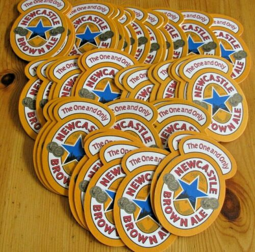50 New Mint Newcastle Beer Coasters! Newcastle: The One & Only!! Buy Now!