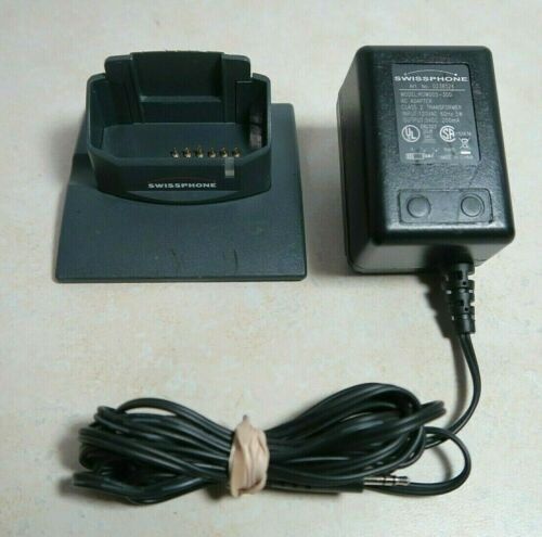 Swissphone LG Standard Charger with Power Adapter for RE, DE & Hurricane Pagers