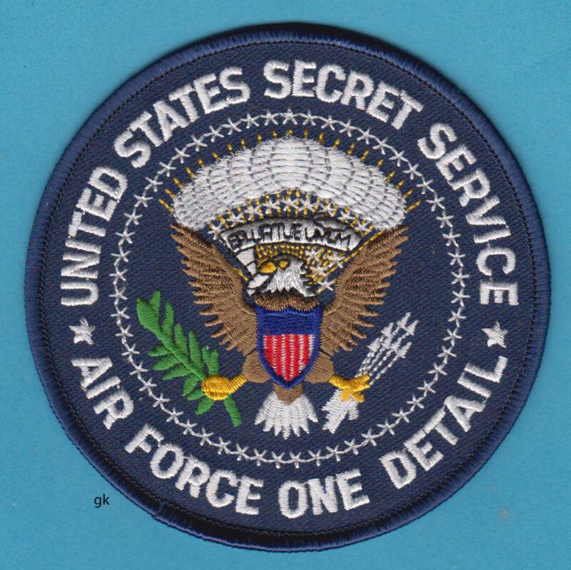 SECRET SERVICE AIR FORCE ONE DETAIL  AF1 PRESIDENTIAL SEAL POLICE SHOULDER PATCH