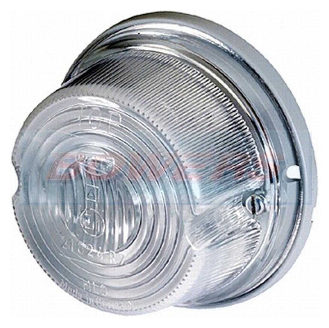 JOKON PLR60 11.1023.000 60mm ROUND LED WHITE FRONT REFLECTOR MARKER LIGHT LAMP