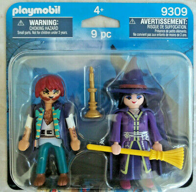 Playmobil,WOLFMAN & WITCH,Halloween,Haunted House,Monsters