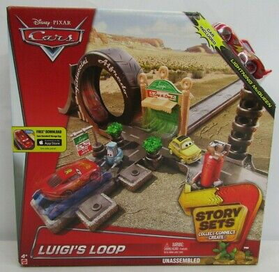 Disney Pixar Cars Story Sets Luigis Loop New Sealed in Box