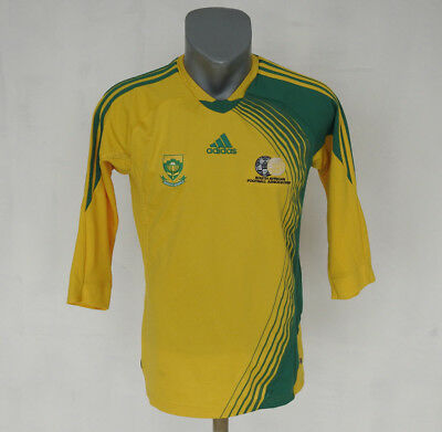 South Africa Football/Soccer shirt 2008 jersey Adidas 3/4 Sleeve kit Size S  image